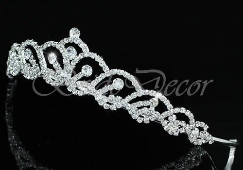 Диадема в виде короны «Кокетка»