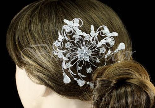 Гребень для волос «Королева цветов»