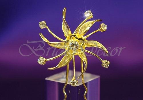 Свадебные шпильки «Золото осени»