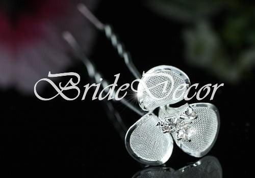 Свадебные шпильки «Хрустальные цветы»