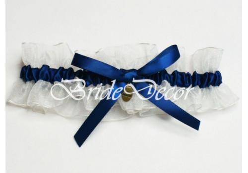 Подвеска невесты на ногу «Синяя лагуна»