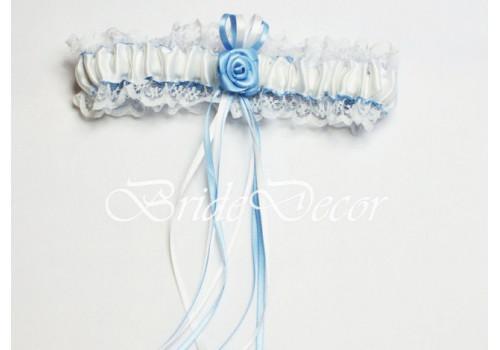 Подвязка невесты на свадьбу «Нежность небес»